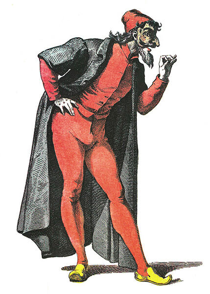 Pantalone Mask from Commedia dell'Arte