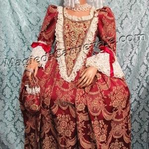 Dama Macramè rosso